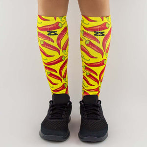 Chili Pepper Compression Leg SleevesLeg Sleeves - Zensah