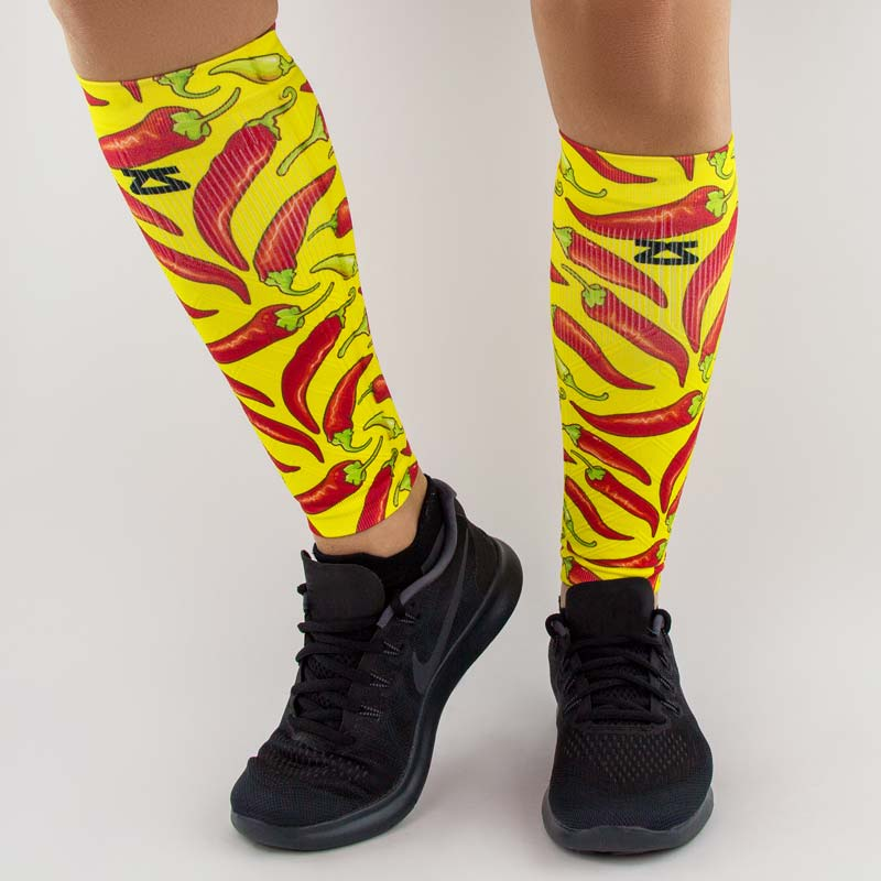Chili Pepper Compression Leg Sleeves