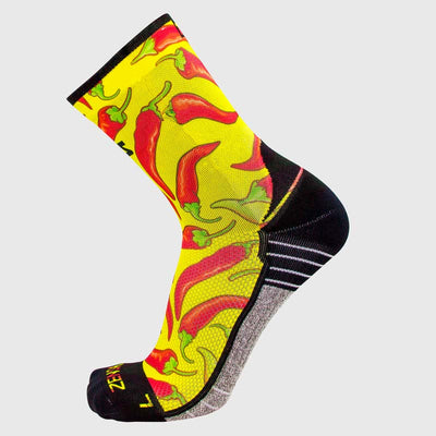 Chili Pepper Socks (Mini-Crew)Socks - Zensah