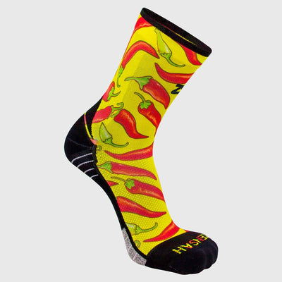 Chili Pepper Socks (Mini-Crew)