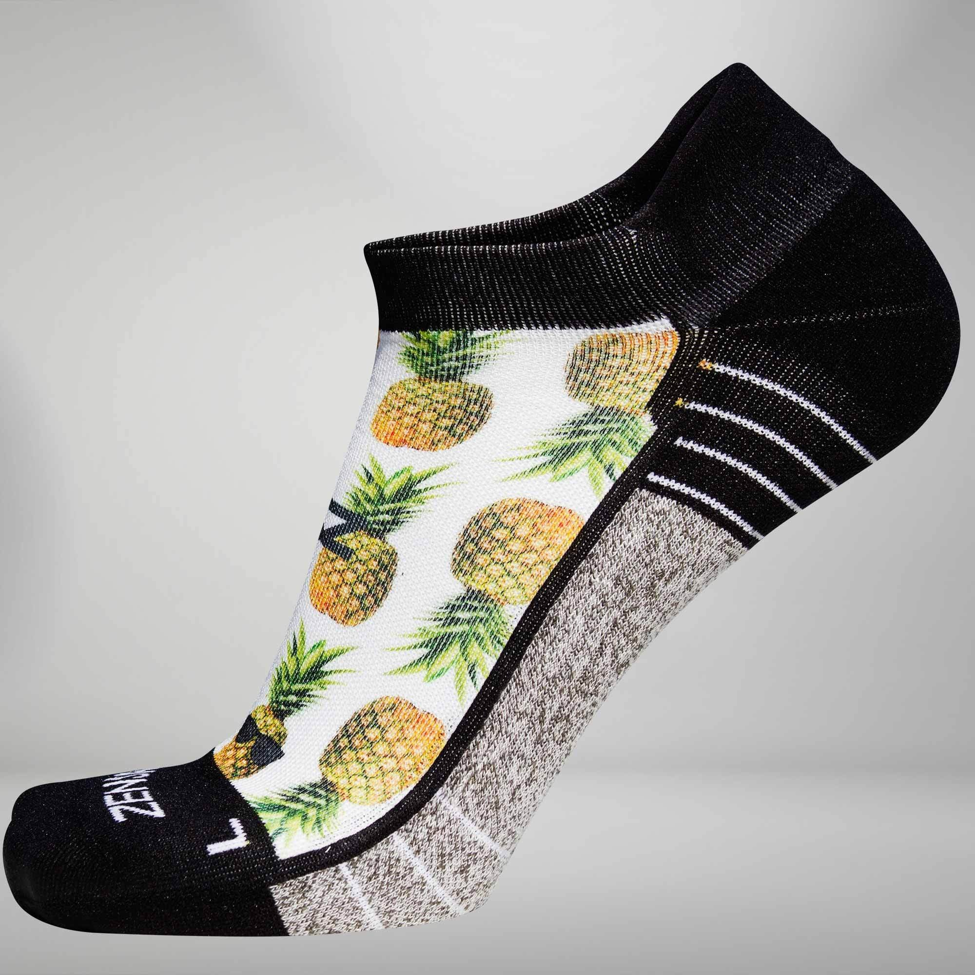 Pineapple Socks (No-Show)