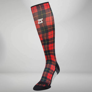 Classic Plaid Compression Socks (Knee-High)