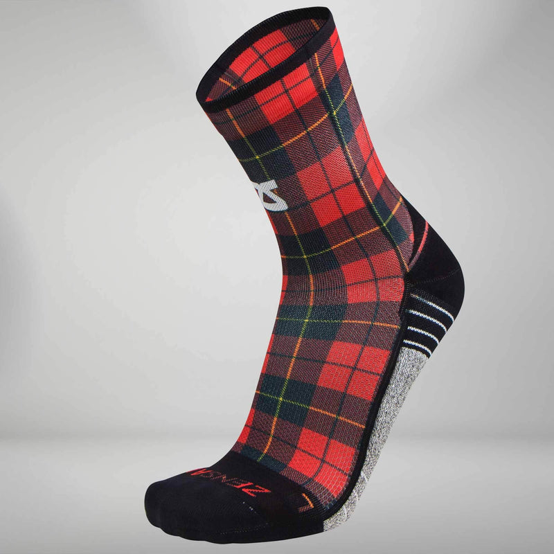 Classic Plaid Socks (Mini Crew)