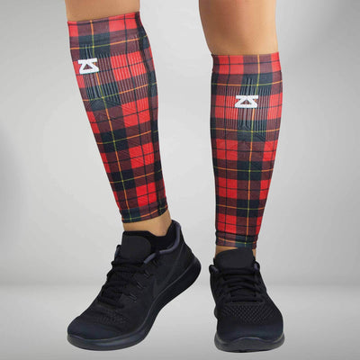 Classic Plaid Compression Leg Sleeves