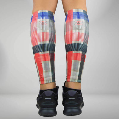 Plaid Compression Leg Sleeves