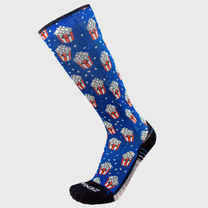 Popcorn Compression Socks (Knee-High)