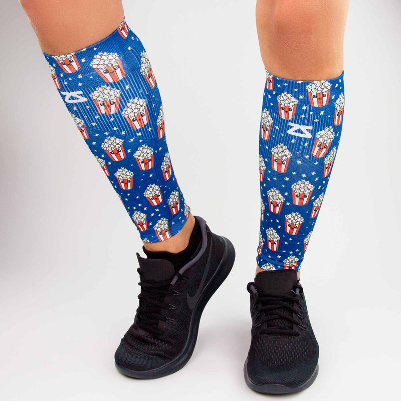 Popcorn Compression Leg Sleeves