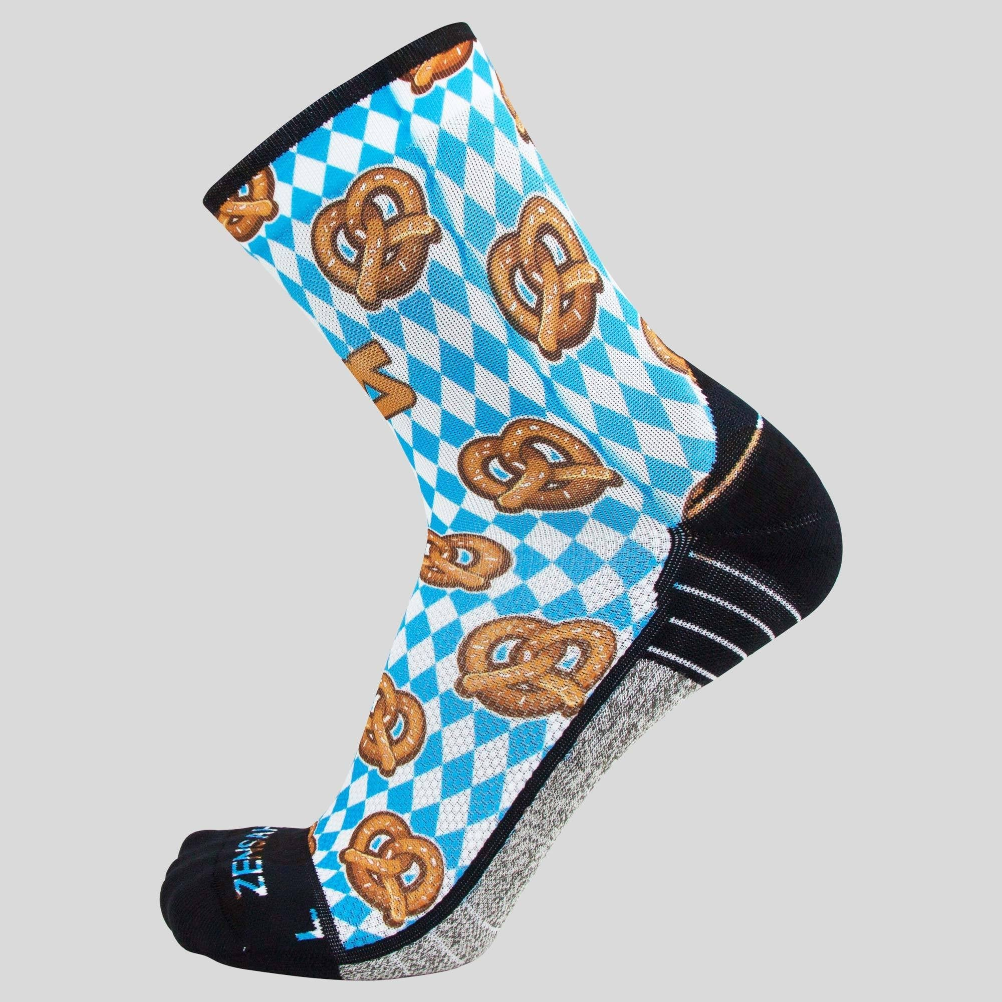 Pretzels Socks (Mini-Crew)
