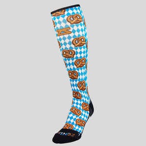 Pretzels Compression Socks (Knee-High)