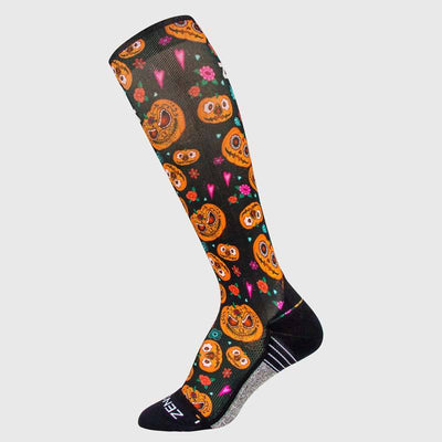 Pumpkins Compression Socks (Knee-High)Socks - Zensah