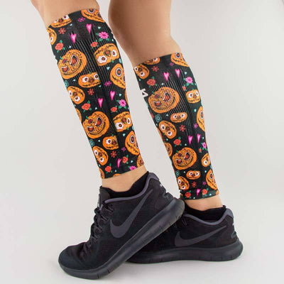 Pumpkins Compression Leg SleevesLeg Sleeves - Zensah