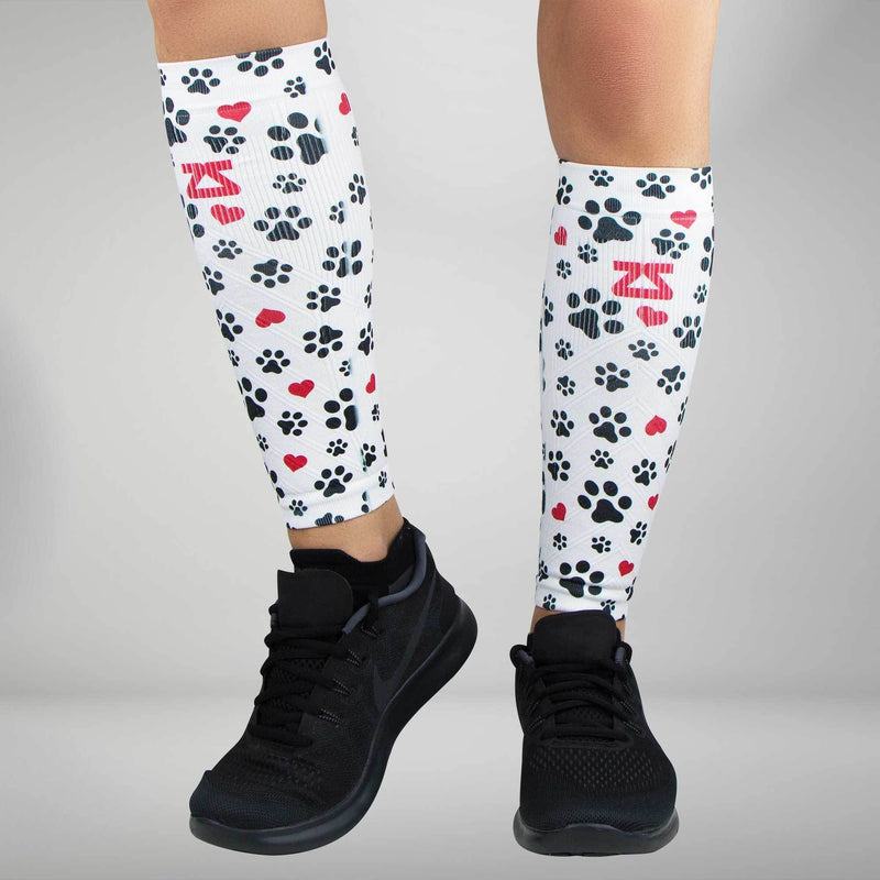Paw Prints Compression Leg Sleeves