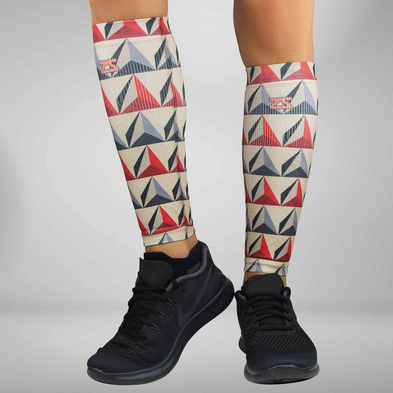Pyramids Compression Leg Sleeves