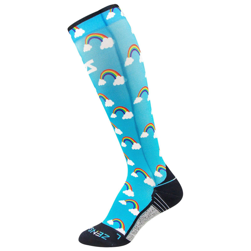 Rainbows Compression Socks (Knee-High)