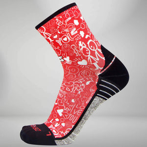 Love Socks (Mini-Crew)Socks - Zensah