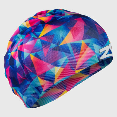 Retro Triangles Skull Cap Beanie