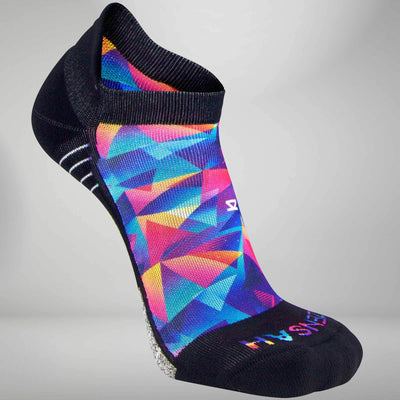 Retro Triangles Socks (No Show)Socks - Zensah