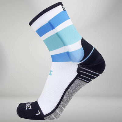 Retro Wide Stripes Socks (Mini-Crew)