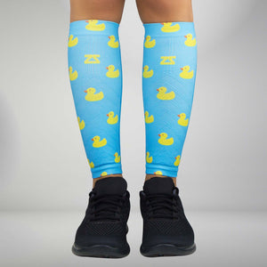 Rubber Ducky Compression Leg Sleeves