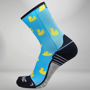 Rubber Ducky Socks (Mini Crew)