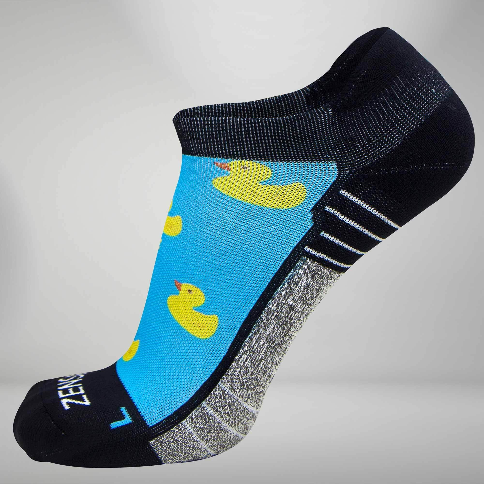Rubber Ducky Socks (No Show)