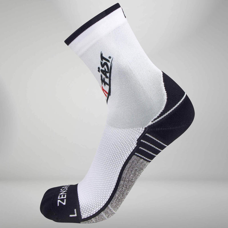 Run It Fast Socks (Mini Crew)Socks - Zensah