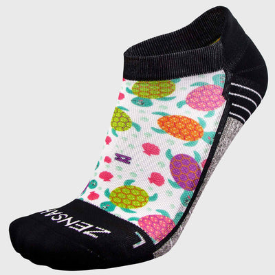 Sea Turtle Running Socks (No Show) - Zensah
