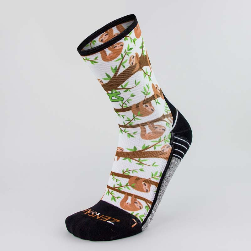 Sloths Socks (Mini-Crew)Socks - Zensah