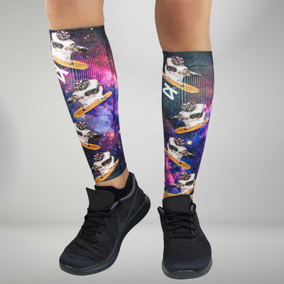 Space Cats Compression Leg Sleeves