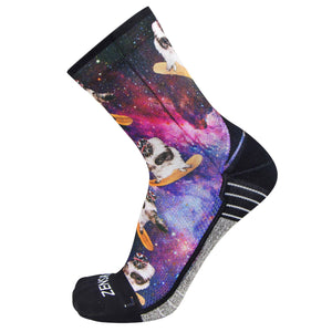 Space Cats Socks (Mini-Crew)