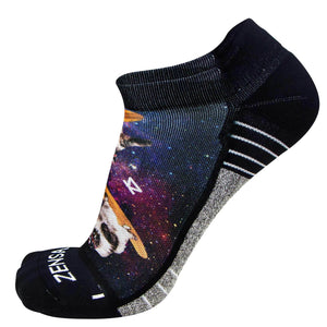 Space Cats Socks (No Show) - Zensah