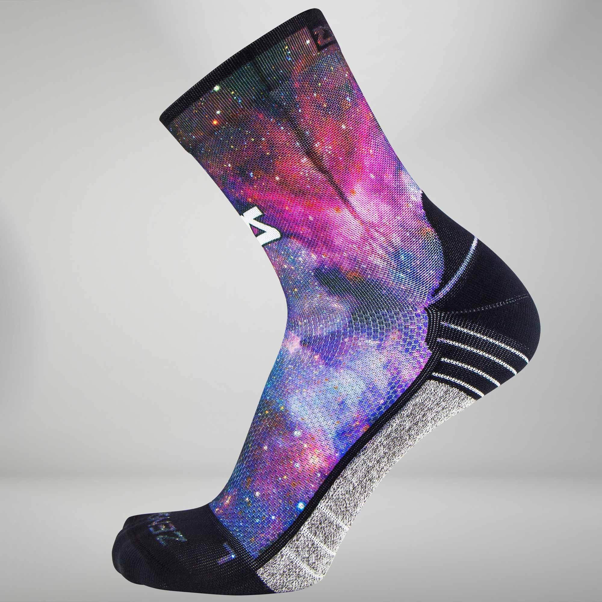 Space Nebula Socks (Mini Crew)