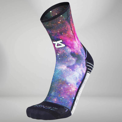 Space Nebula Socks (Mini Crew)Socks - Zensah