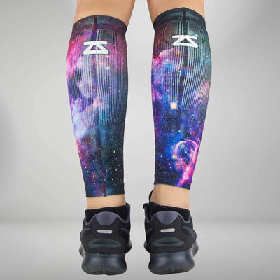 Space Nebula Compression Leg Sleeves