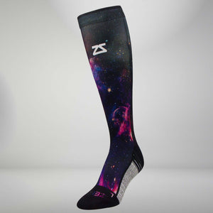 Space Nebula Compression Socks (Knee-High)