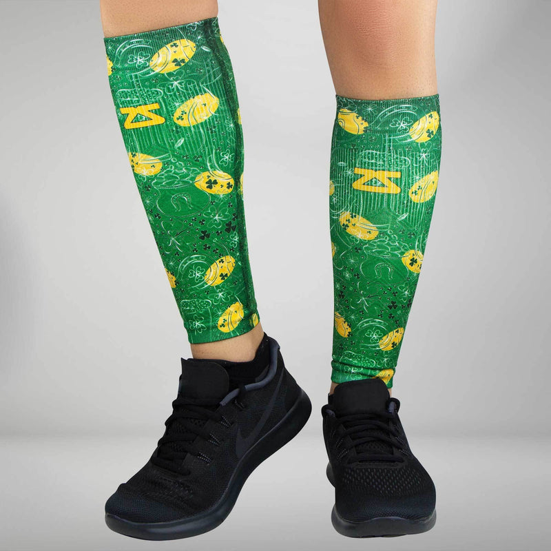 St Patrick's Doodle Compression Leg Sleeves