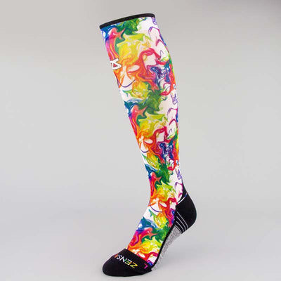 Marble Compression Socks (Knee-High)Socks - Zensah