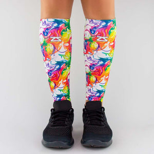 Marble Compression Leg Sleeves