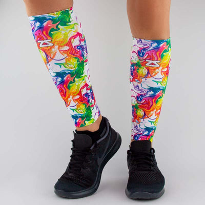 Marble Compression Leg SleevesLeg Sleeves - Zensah