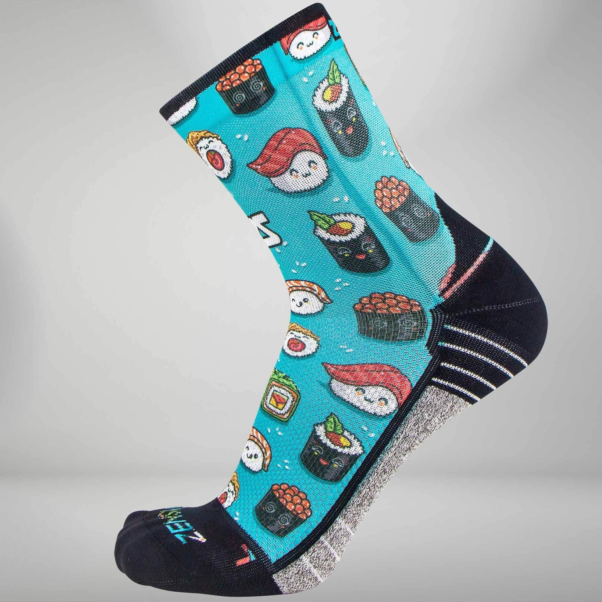Sushi Socks (Mini Crew)