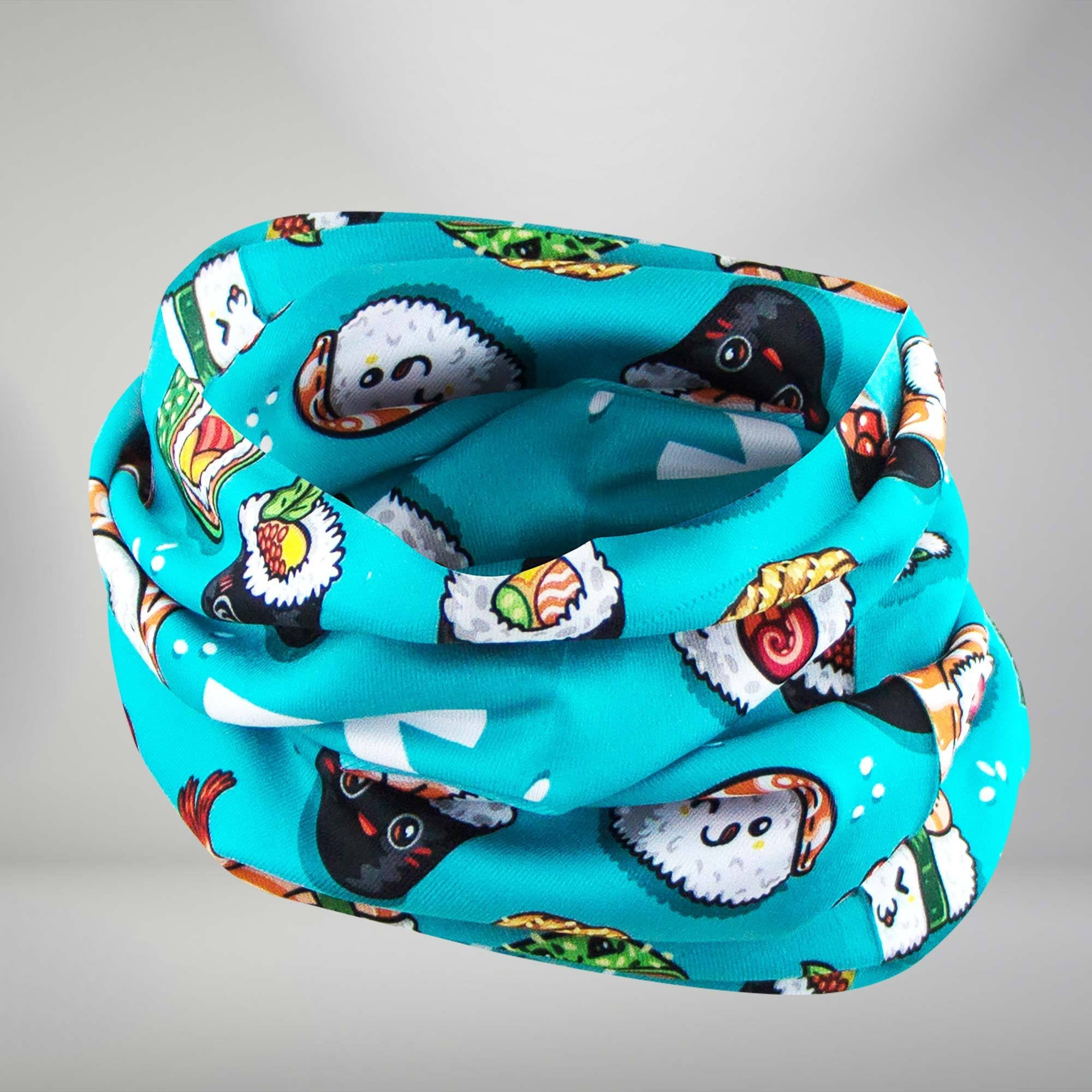 Sushi Multi-Use Neck Gaiter & Headwear
