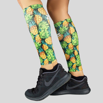 Sweet Pineapples Compression Leg Sleeves