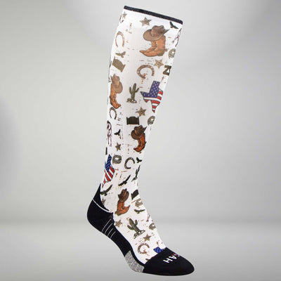 Texas Collage Compression Socks (Knee-High)