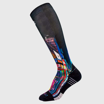 Times Square Compression Socks (Knee-High)