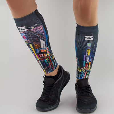 Times Square Compression Leg SleevesLeg Sleeves - Zensah