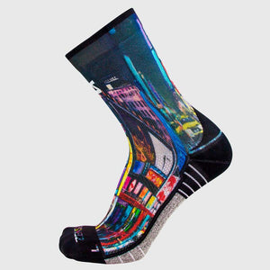Times Square Socks (Mini-Crew)