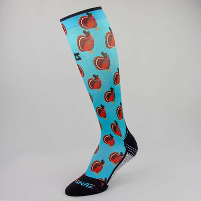 Turkeys Compression Socks (Knee-High)