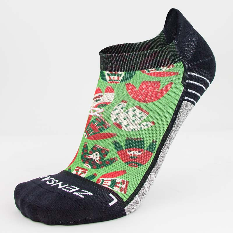 Xmas Sweater Running Socks (No Show)