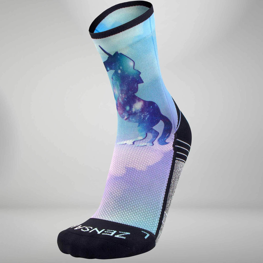 Unicorn Socks (Mini-Crew)