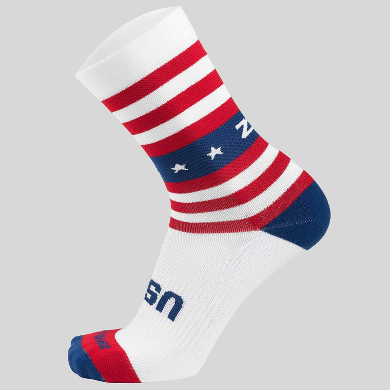 USA Compression Sock (Mini-Crew)